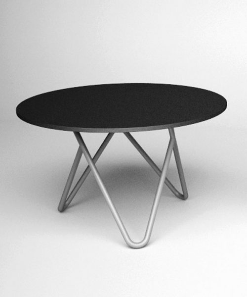 Cage club table by Filip Gordon Frank