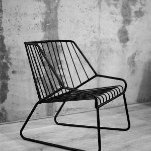 Cage lounge chair by Filip Gordon Frank