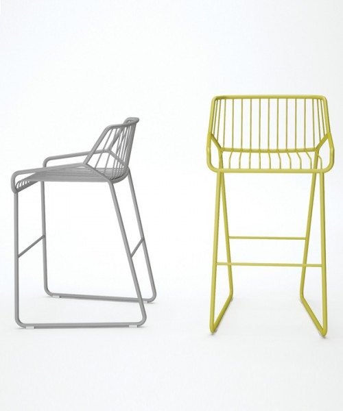 Cage barstools by Filip Gordon Frank