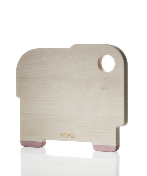 Noah's elephant cutting board by Filip Gordon Frank