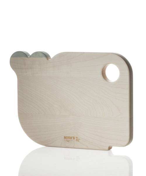 Noah's whale cutting board by Filip Gordon Frank