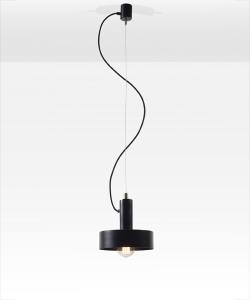 Hat pendant lamp by Filip Gordon Frank