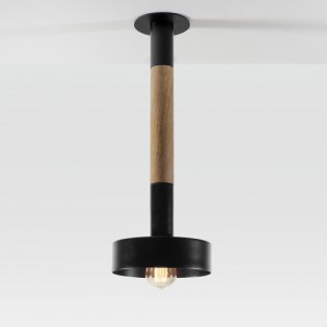 Sinter wooden ceiling lamp by Filip Gordon Frank