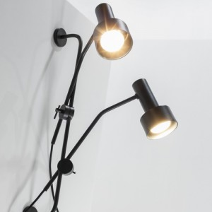 Stork wallmount lamp by Filip Gordon Frank